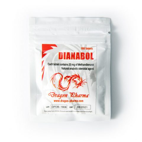 Dianabol 20mg 100tabs Dragon Pharma