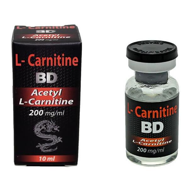 L-CARNITINE 200mg/ml x 10 ml - Black Dragon