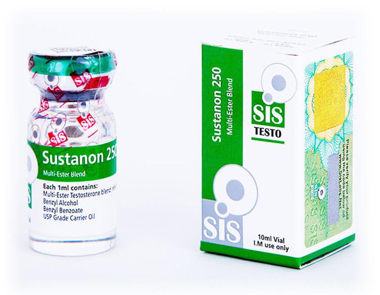 Sustanon 250 - vial of 10ml - 250mg - SIS Labs