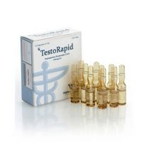 Injectable Propionate Testosterone TestoRapid Test Prop 100mg / ml 10 x 1ml amp - Alpha-Pharma