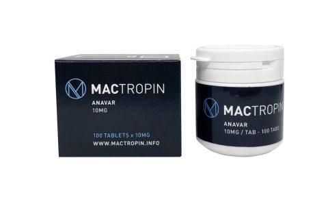 Στοματική Οξυμεθολόνη Anavar 10mg 100 καρτέλες - Mactropin