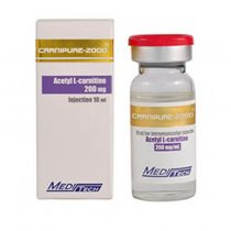 Injectable Acetylcarnitine CARNIPURE-2000 Acetyl L-carnitine 200mg/ml 10ml/vial - Meditech