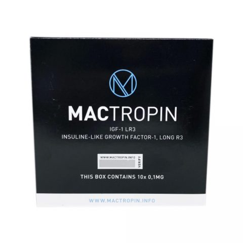 IGF-1 Peptides LR3 10x0.1mg - Mactropin