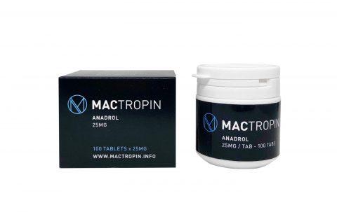 Oxymetholone orale Anadrol 25mg 100tabs - Mactropina