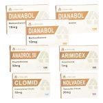 Ultimate Mass Gain Pack - Dianabol + Anadrol - Στοματικά στεροειδή (8 εβδομάδες) A-Tech